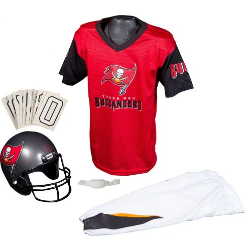 Franklin Kids' Tampa Bay Buccaneers Deluxe Uniform Set
