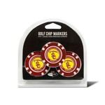 Team Golf University of Southern California Poker Chip and Golf Ball Marker Set - view number 1