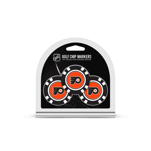 Team Golf Philadelphia Flyers Poker Chip and Golf Ball Marker Set - view number 1
