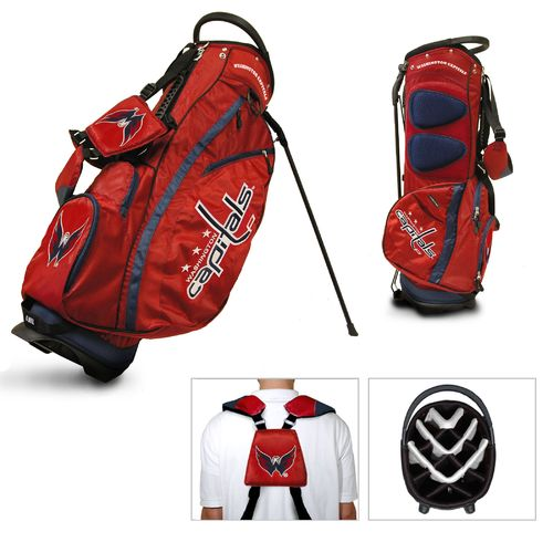 Team Golf Washington Capitals Fairway 14-Way Stand Golf