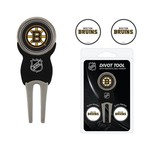 Team Golf Boston Bruins Divot Tool and Ball Marker Set - view number 1