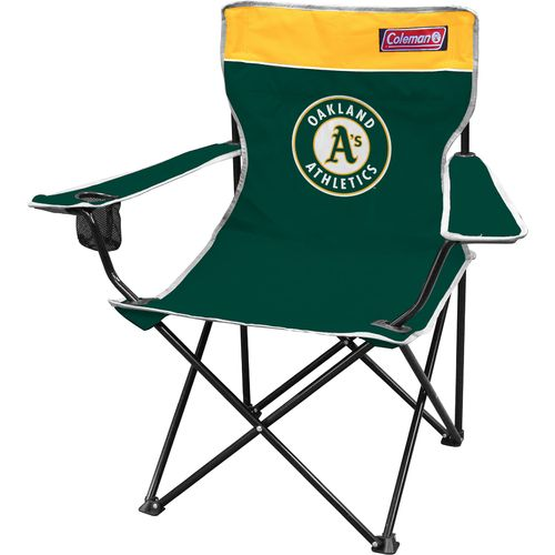 Display product reviews for Coleman® Oakland Athletics Quad Chair