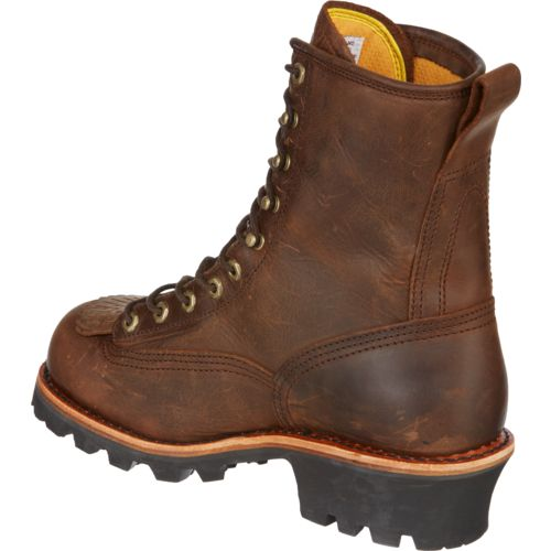 Chippewa Boots® Men's Bay Apache Waterproof Logger Rugged Outdoor Boots - view number 3