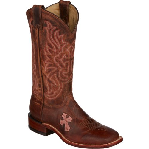 Tony Lama Women's Saigets Worn Goat San Saba Western Boots - view number 2