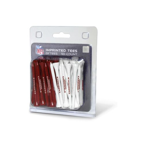 Team Golf Arizona Cardinals Golf Tees 50-Pack