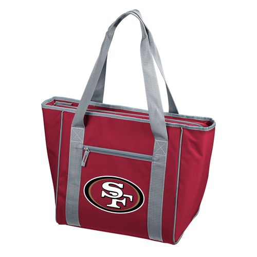 Logo San Francisco 49ers 30-Can Cooler Tote Bag