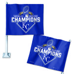 WinCraft Kansas City Royals World Series Champions Car Flag