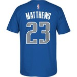 adidas™ Men's Dallas Mavericks Wesley Matthews #2 7 Series T-shirt