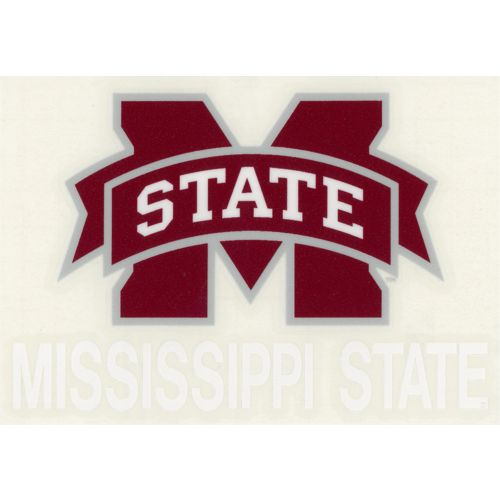 "Stockdale Mississippi State University 4"" x 5"" Decal"