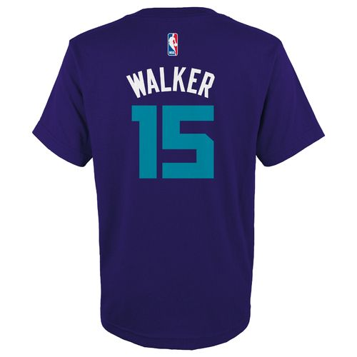 adidas™ Boys' Charlotte Hornets Kemba Walker #15 Player T-shirt