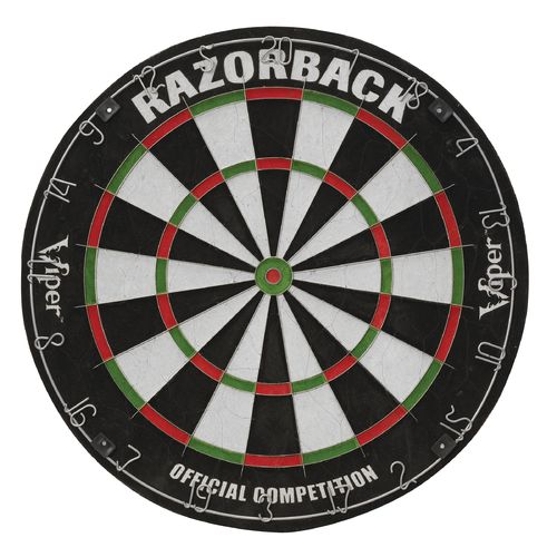 Display product reviews for Viper Razorback Bristle Dartboard