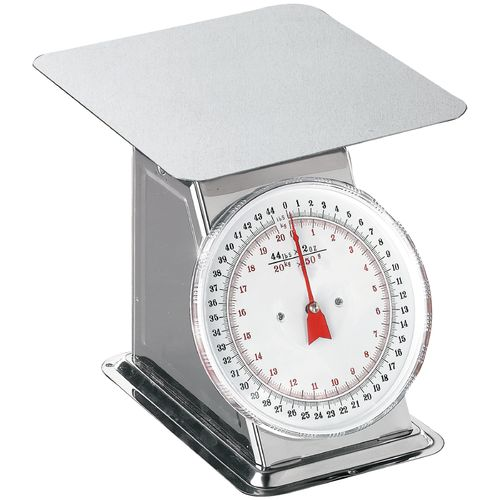Weston 44 lb. Flat-Top Dial Scale