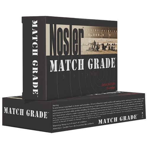 Nosler Match Grade 9mm Centerfire Handgun Ammunition