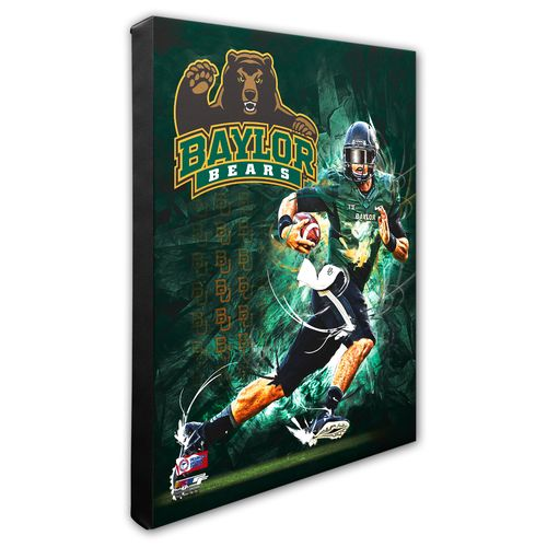 Photo File Baylor University Player Stretched Canvas Photo