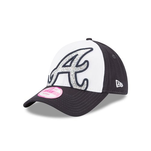 New Era Women's Atlanta Braves Glitter Glam 9FORTY® Cap