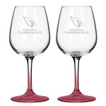 Boelter Brands Arizona Cardinals 12 oz. Wine Glasses 2-Pack