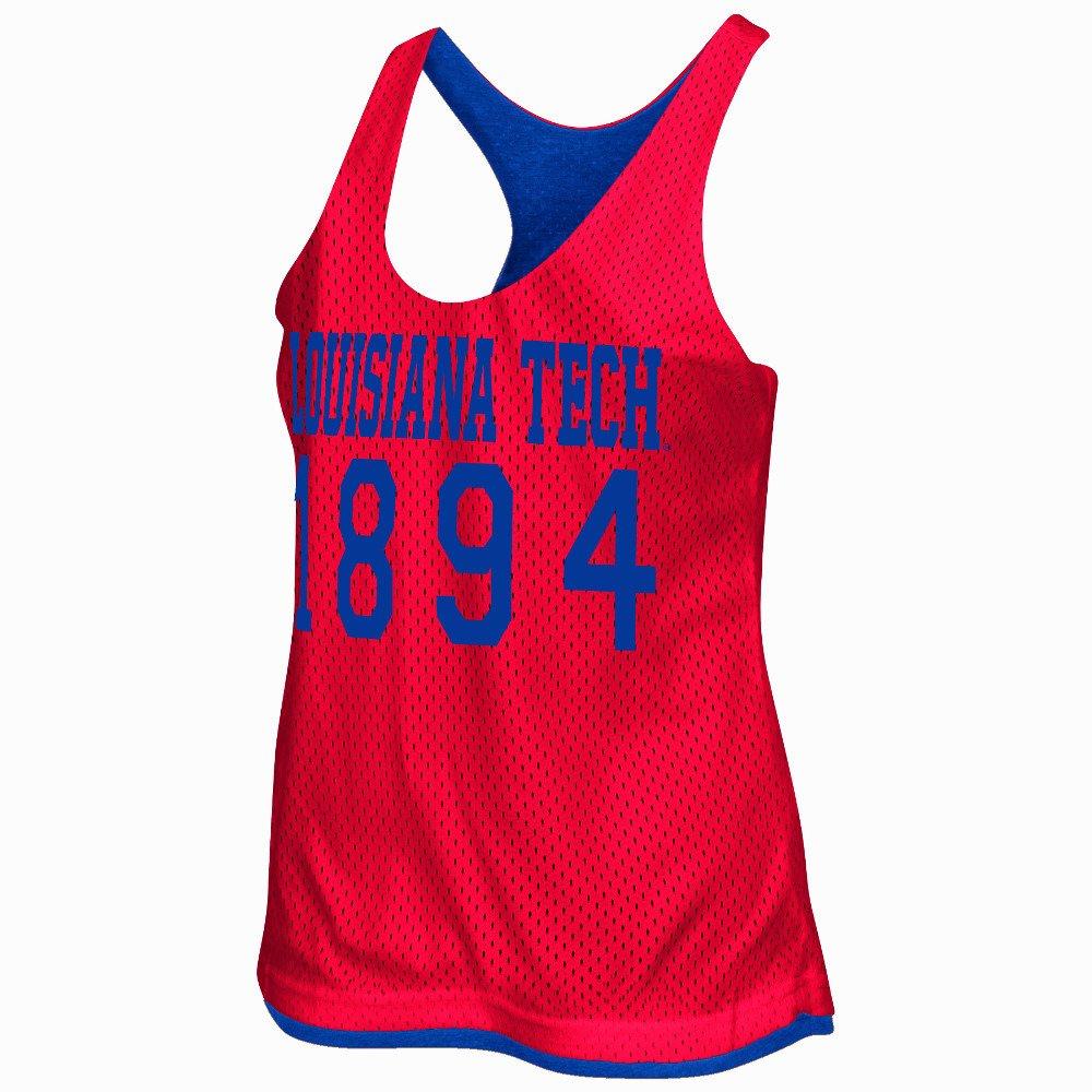 Colosseum Athletics Women's Louisiana Tech University Triple Crown Reversible Tank Top