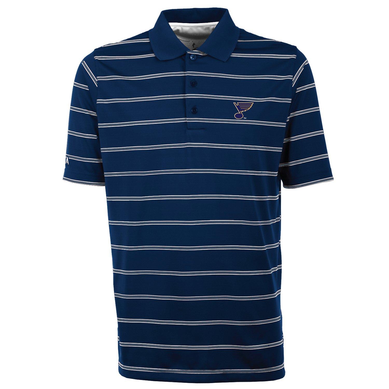 Antigua Men's St. Louis Blues Deluxe Polo Shirt