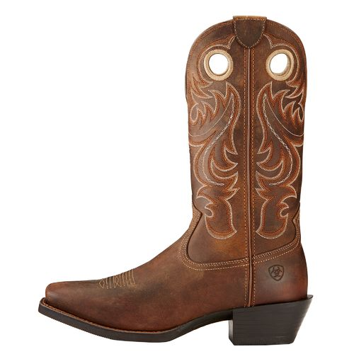 Display product reviews for Ariat Men's Sport Square-Toe Western Boots