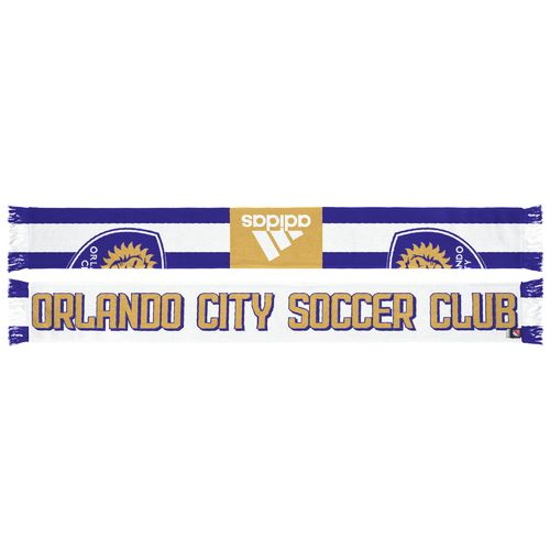adidas Men's Orlando City SC Authentic Draft Scarf