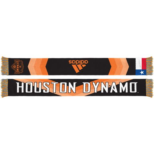 adidas™ Men's Houston Dynamo Jersey Hook Sublimated Scarf