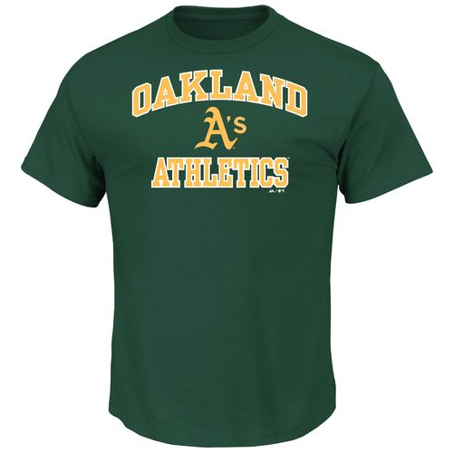 Majestic Men's Oakland Athletics Heart and Soul T-shirt