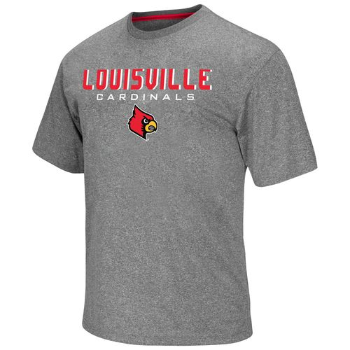 Colosseum Athletics Men's University of Louisville Arena Short Sleeve T-shirt