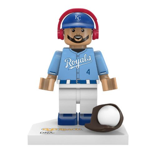 OYO Sports Kansas City Royals Alex Gordon #4 Minifigure