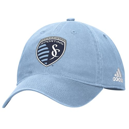 adidas™ Men's Sporting Kansas City Basic Slouch Adjustable Cap - view number 1