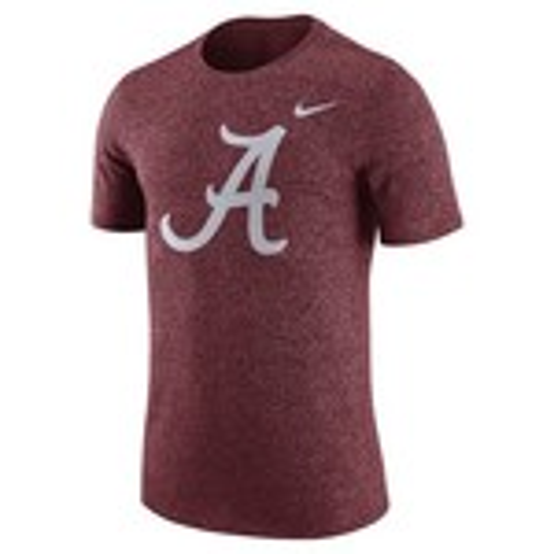 Nike Men's University of Alabama Marled Logo T-shirt