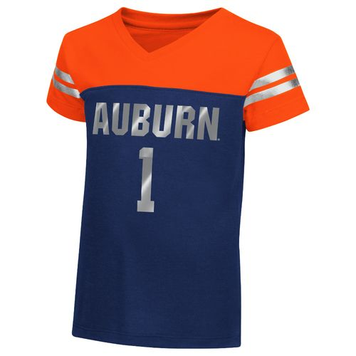 Colosseum Athletics™ Toddler Girls' Auburn University Nickle T-shirt