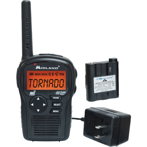 Midland™ E+READY Portable Weather Alert Radio