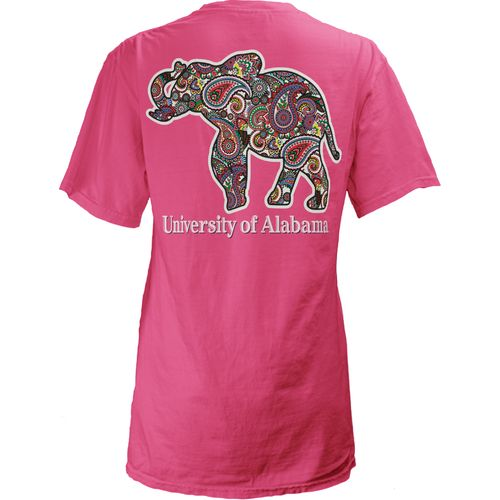 Three Squared Juniors' University of Alabama Preppy Paisley