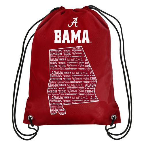 Forever Collectibles™ University of Alabama Drawstring Backpack