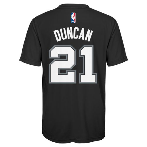 NBA Boys' San Antonio Spurs Tim Duncan #21 T-shirt