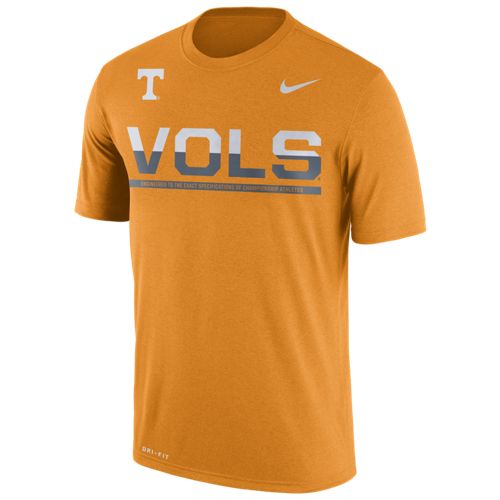 Nike™ Men's University of Tennessee Legend Staff Short Sleeve T-shirt