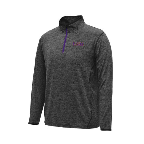 Colosseum Athletics™ Men's Louisiana State University Action Pass 1/4 Zip Pullover