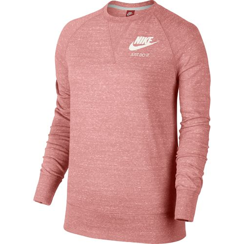 Nike Women's Gym Vintage Just Do It Long Sleeve Crew