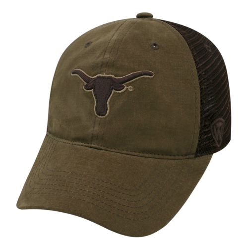 Top of the World Men's University of Texas Bark Cap