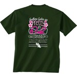 New World Graphics Women's University of North Texas Cuter in Team T-shirt