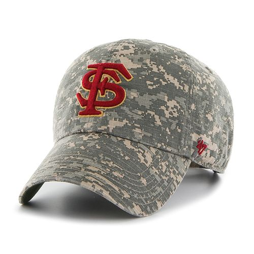 '47 Florida State University Officer Camo Clean-Up Cap