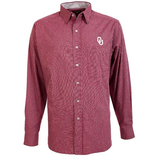Antigua Men's University of Oklahoma Division Dress Shirt