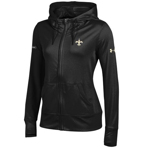 Under Armour™ NFL Combine Authentic Women's New Orleans Saints French Terry Full Zip Jacket - view number 1