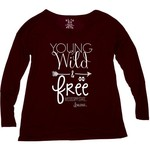 Blue 84 Women's Mississippi State University Liquid Jersey Patch Long Sleeve T-shirt