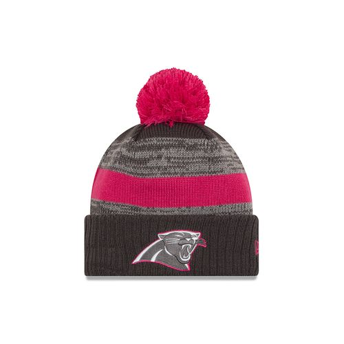 New Era Men's Carolina Panthers 2016 Breast Cancer Awareness Knit Cap