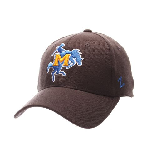 Zephyr Men's McNeese State University Charcoal Flex Cap