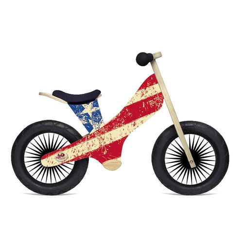 Kinderfeets Kids' Retro America Balance Bicycle
