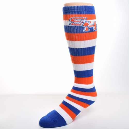 For Bare Feet Men's Sam Houston State University Pro Stripe Tube Socks