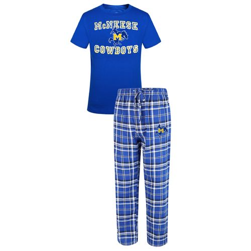 Concepts Sport™ Men's McNeese State University Tiebreaker Shirt and Pant Set