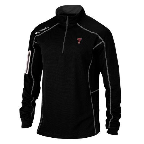 Columbia Sportswear Men's Texas Tech University Shotgun 1/4 Zip Pullover